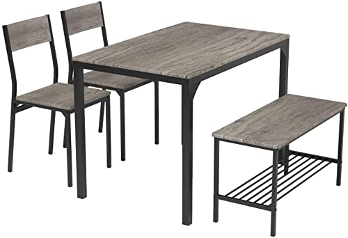 Teraves 4 Seater Dining Table Set